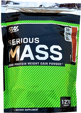 ON Chocolate Serious Mass Protein Weight Gainer - 2 Lbs