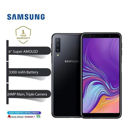 Samsung Galaxy A7 2018 128Gb / 4Gb with 10,000 mAh Samsung Power Bank Free