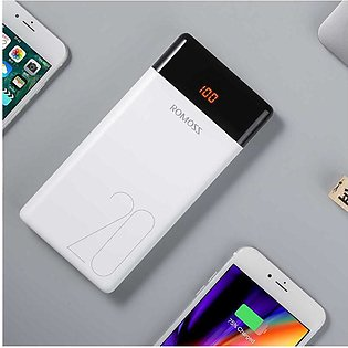 Romoss 20000mAh Power Bank LT-20 Quick Charge with LCD Display