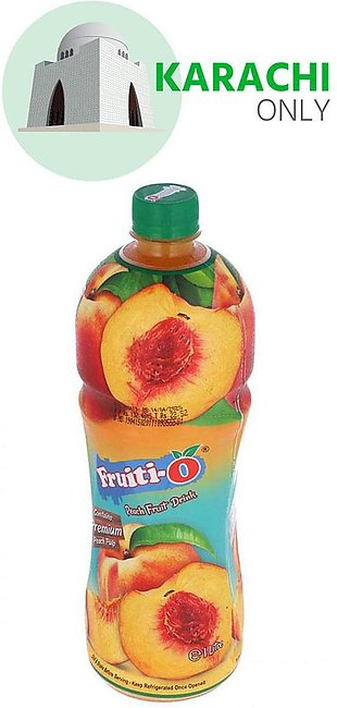 Fruiti-O Peach Juice 1 Litre