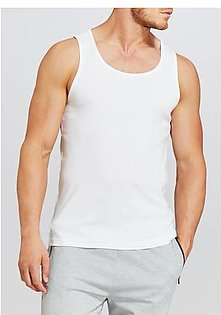 Pack of 5 100% pure cotton vest for men sleeves less premium quality men vest banyan inner wear for boys white vest