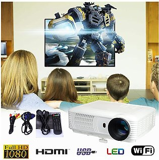 SV-228 1080P Android WiFi LED LCD Home Theater Projector Digital TV USB HDMI VGA