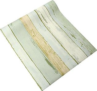 The Old Tree Realistic Wood Optic Panelling Timber Plank Wood Panel Stripe Wallpaper 10M Roll