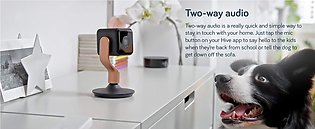 Hive View Smart Indoor Camera - 1080P - HD IP Camera