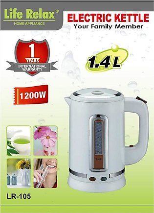 LIFE RELAX ELECTRIC KETTLE-LR-105