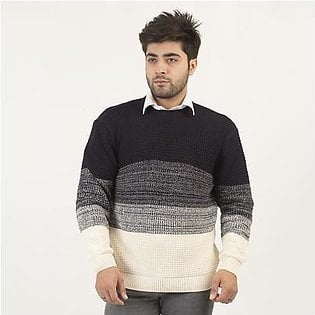 Oxford Waffler Knit Sweater For Men