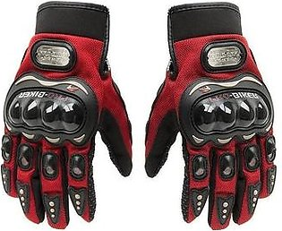 Synthetic Leather Motorcycle Gloves