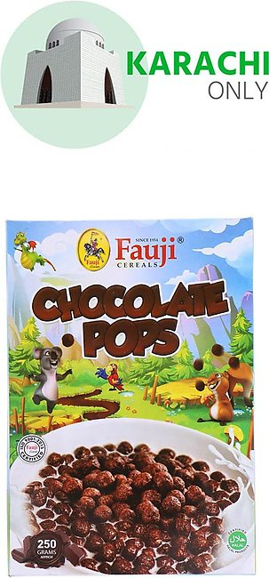 Fauji Cereals Chocolate Pops 250g