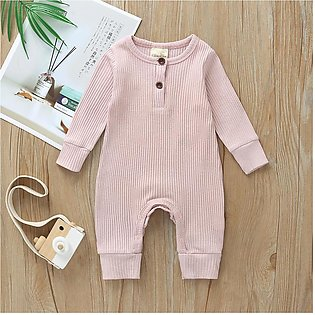 Newborn Baby Boy Girl Clothes Long Sleeve Romper Jumpsuit One-Pieces Outfits