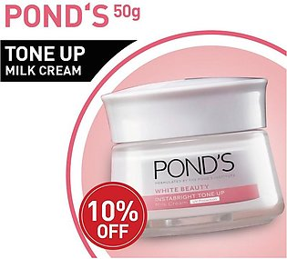 10% OFF ON Ponds WHITE BEAUTY TONEUP CREAM 50G