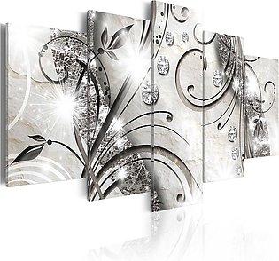5 Panels Wall Art Print Pictures Canvas Wall Art Paintings Unframed For Home ...