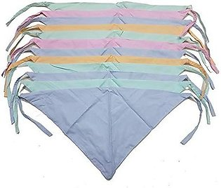 Pack Of 6 Cotton Langot / Nappy for New Born Babies In Multicolour