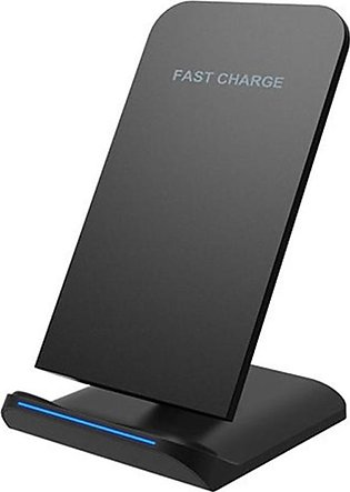 Qi Fast Wireless Charger Stand for Samsung Galaxy S9 Plus S8 Note8 Iphone 8 Plu…