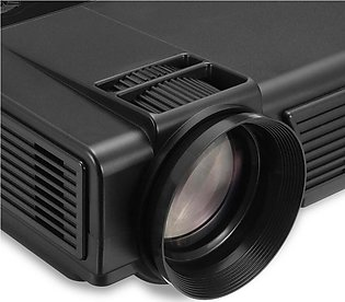 【Special Offer】Portable 1080P HD LCD Mini Home Theater Multimedia Projector U...