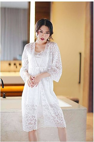 Bridal Nighty With Gown