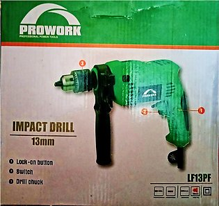 Pure Copper Electric Drill Machine Two Way Prowork 13mm Hammer Drill Machine Wi…