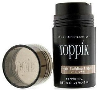Toppik 12g Light Brown - Made in CHINA- New 2019 Packaging