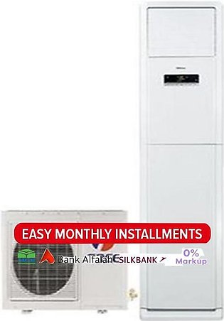 Gree Floor Standing GF-24FW - Low Voltage Startup Series Air Conditioner - White
