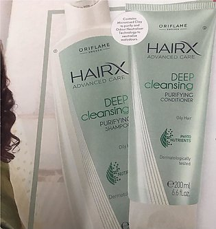 HairX Advanced Care Deep Cleansing Purifying Shampoo and Conditioner