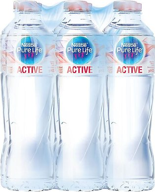 NESTLE Pure Life Water Active 550ml - Pack of 6