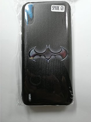 BATMAN Tecno Spark Go Soft Mobile Back Cover - Cool 3D Digital Printed