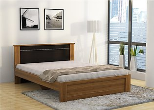 """Revival Queen Size Stylish Bed - 78"""" x 60"""" - With & Without Mattress"""