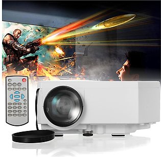 Full HD 1080P Home Theater LED Mini Multimedia Projector Cinema USB SD HDMI VGA