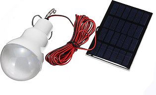 15W Solar Panel Power LED Bulb Light Portable Outdoor Camping Tent Energy Lamp S