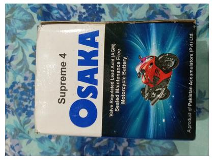 Dry Battery For Motorcycle