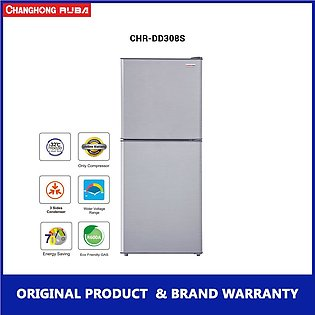 Changhong Ruba - 11 cubic feet - A+ Energy Rating - CHR-DD308S - Refrigerator...