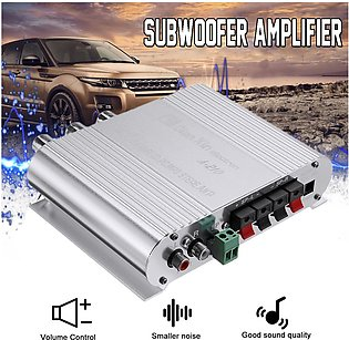 12V 2.1CH 210W Car Motorcycle Bass Power Amplifier Hi-Fi MP3 Audio Stereo DX-210