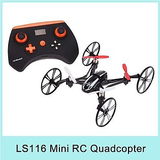 LS-116 2.4G 4CH RC mini Drone Quadcopter 4 in 1 Air-Ground professional