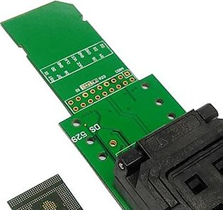 EF Emcp529 Reader Test Socket With Security Digital Interface Flash Data Recovery