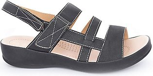 Hush Puppies - SS-SD-0140 - Black Open Sandal for Women
