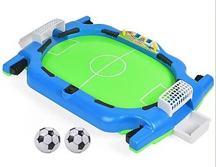 Mini Table Football Field Ball Game Toy Kids Competitive Football Toy Double Pu…