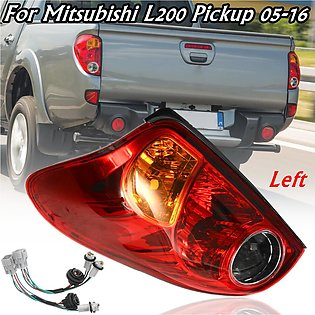 Rear Left Tail Brake Light with Wiring For Mitsubishi L200 2005-2016