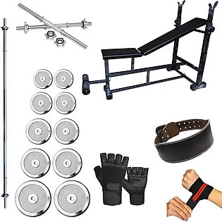Pack Of 7 Bodybuilding Exercise Package - Midway - Exclusive Exercise & fitness…