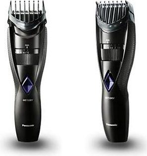 Panasonic Wet and Dry Electric Beard and Hair Trimmer for Men, Black