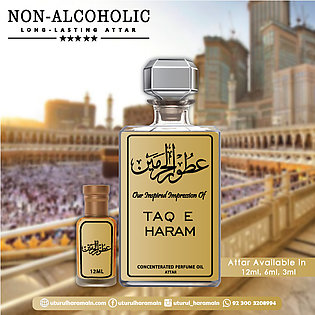 Taq E Haram - ATTAR (Roll On Perfume Oil) - ( Long Lasting Concentrated Alcohol…