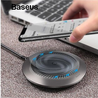 Automatic Radiating Wireless Charger Qi Fast Wireless Charging Pad With Silent …