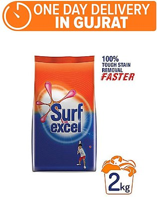SURF EXCEL DETERGENT 2 KG (One day delivery in Gujrat)