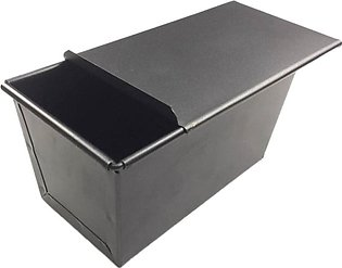 Non-Stick Bread Loaf Meatloaf Pan with Lid Iron Toast Mold Kitchen Baking Tools