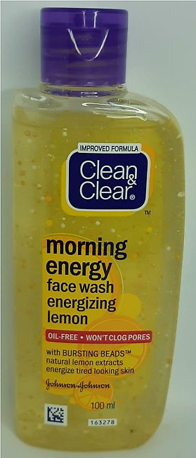 Cleans And Clears Lemon Face Wash 100 ML