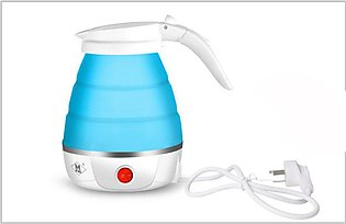 Cat Travel Folding Electric Kettle Home Silicone Mini Portable Small Kettle