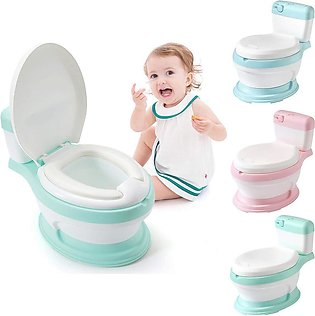 Toilet Shape Baby Potty Training Chair for Boys and Girls Toddler Potty Train...