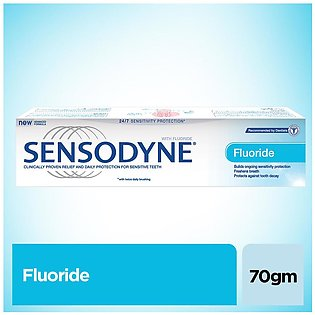 SENSODYNE FOR SENSITIVITY RELIEF, FLUORIDE TOOTHPASTE FOR CAVITY PROTECTION, ...
