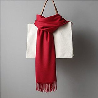 Women solid color cashmere scarves lady winter thick warm scarf high quality
