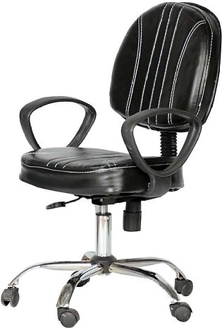 Rexine Computer Revolving Chair -