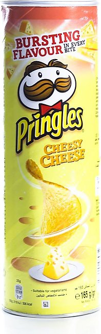 Pringles Cheesy Cheese 165gm