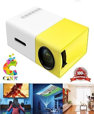 Mini Portable Hd Led Projector Usb Hdmi Av Sd 1080P Home Theater (R K)